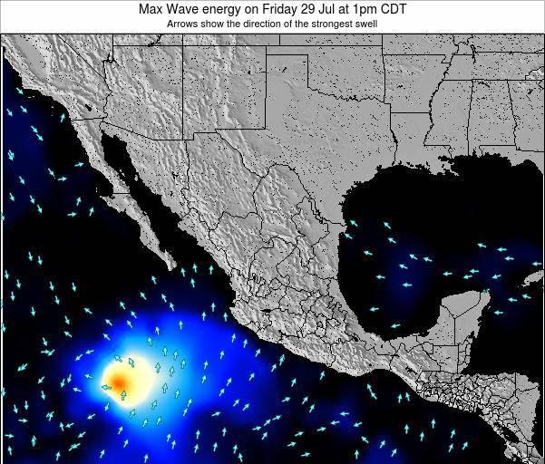 Mexico Max Wave energy on Sunday 20 Apr at 7pm CDT