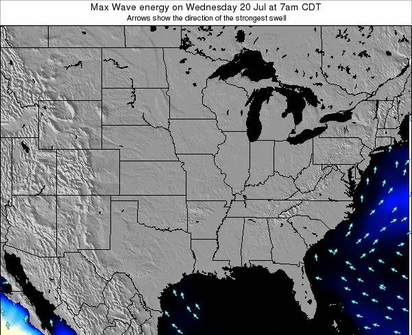 Illinois Max Wave energy on Saturday 02 Aug at 7pm CDT