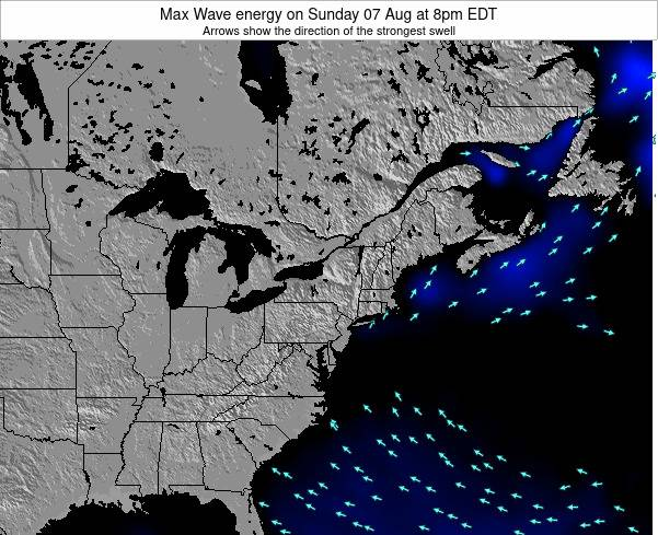 New-York Max Wave energy on Friday 17 May at 8pm EDT