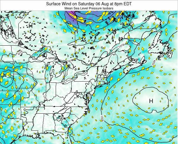 Delaware Surface Wind on Wednesday 29 May at 2pm EDT