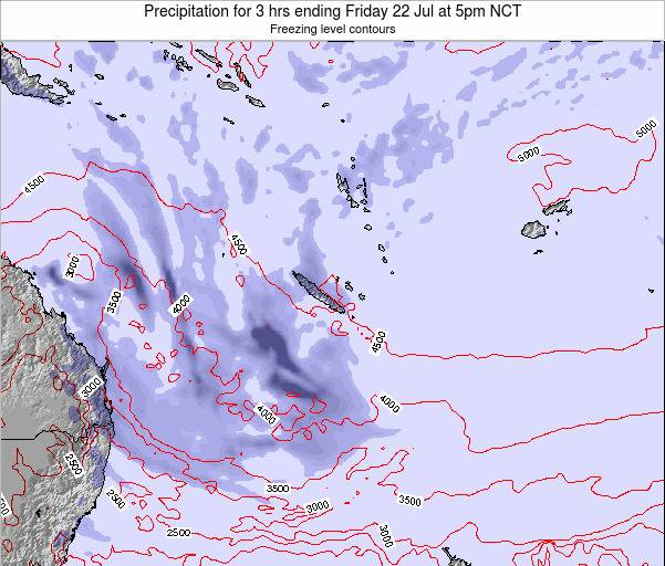 Vanuatu Precipitation for 3 hrs ending Thursday 30 May at 11am NCT
