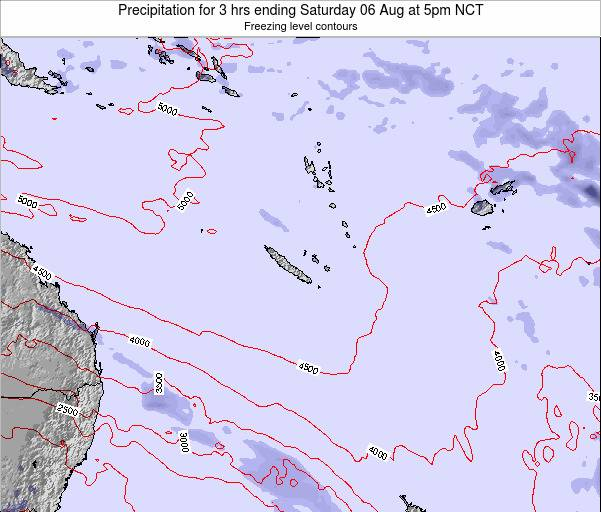 Vanuatu Precipitation for 3 hrs ending Friday 24 May at 11am NCT