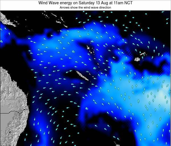 Vanuatu Wind Wave energy on Saturday 01 Apr at 5am NCT