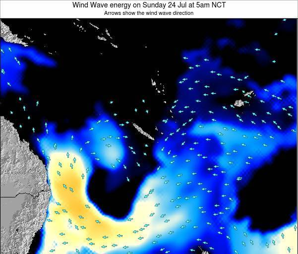 Vanuatu Wind Wave energy on Tuesday 29 Jul at 11am NCT