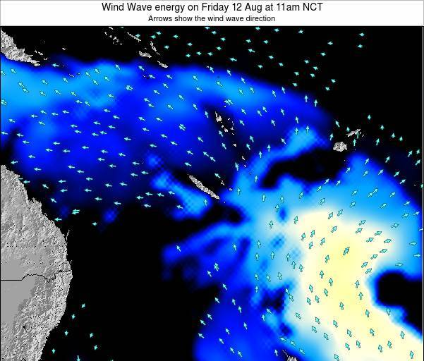 Vanuatu Wind Wave energy on Friday 08 Aug at 11am NCT