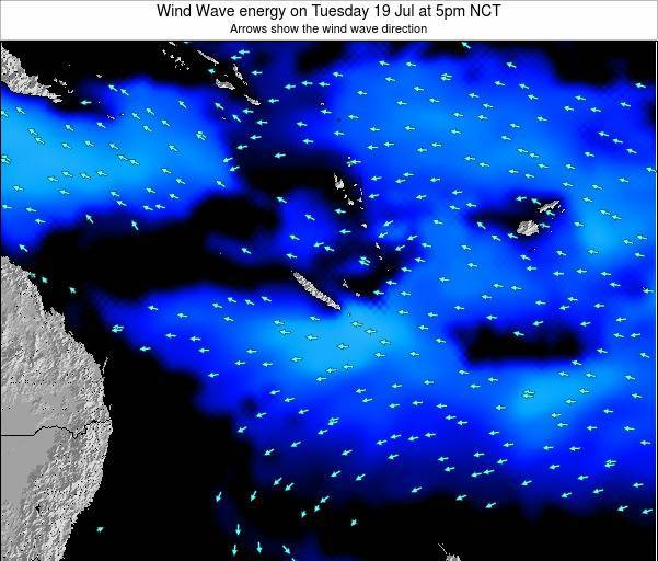 Vanuatu Wind Wave energy on Thursday 09 Jul at 11pm NCT