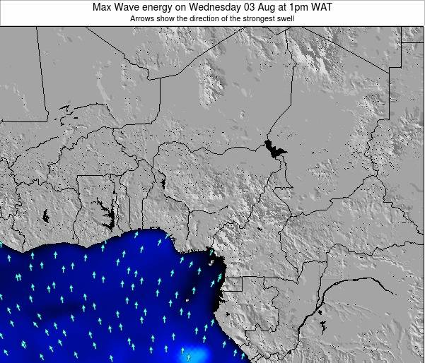 Nigeria Max Wave energy on Thursday 30 May at 7am WAT