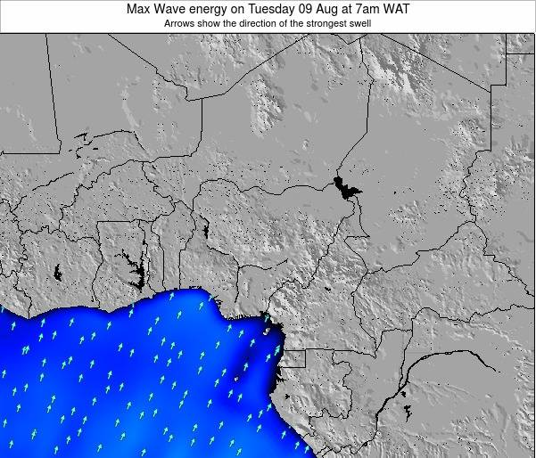 Nigeria Max Wave energy on Monday 30 Nov at 7am WAT