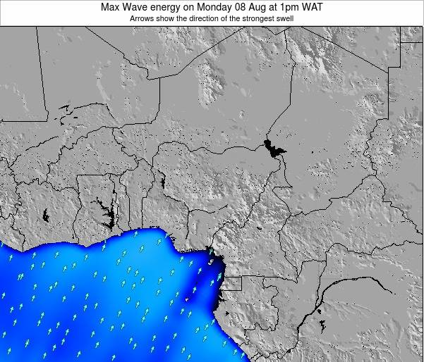 Nigeria Max Wave energy on Tuesday 05 Aug at 7pm WAT