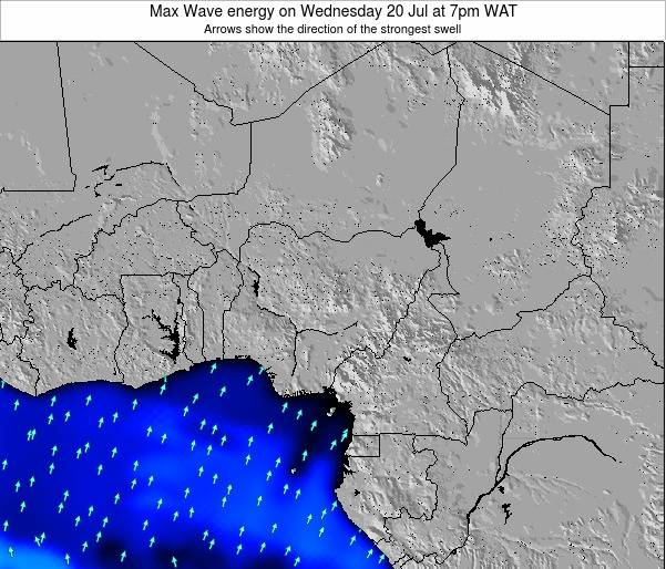 Nigeria Max Wave energy on Friday 14 Mar at 1pm WAT