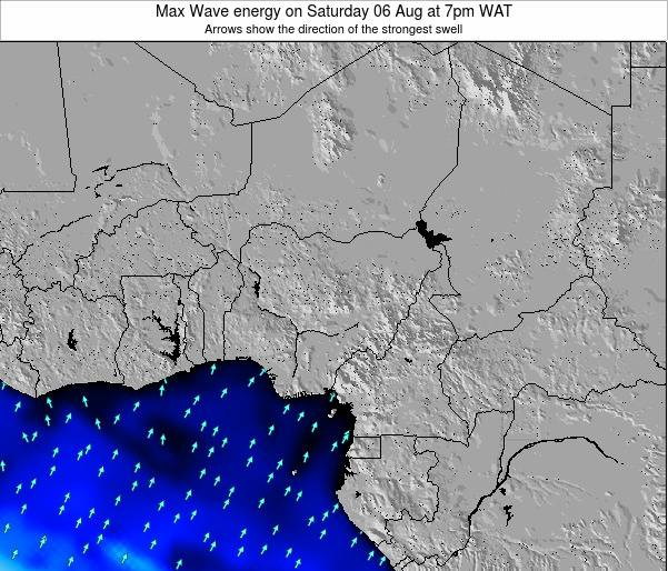 Nigeria Max Wave energy on Saturday 19 Apr at 7pm WAT