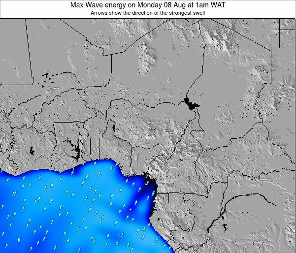 Nigeria Max Wave energy on Wednesday 02 Sep at 7am WAT