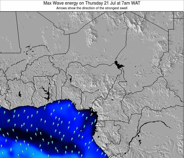 Nigeria Max Wave energy on Monday 28 Jul at 7am WAT