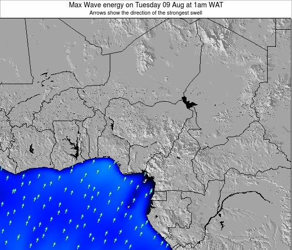 Nigeria Max Wave energy on Tuesday 21 Apr at 1pm WAT
