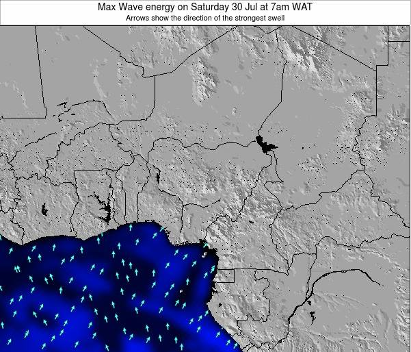 Nigeria Max Wave energy on Monday 27 Oct at 7pm WAT