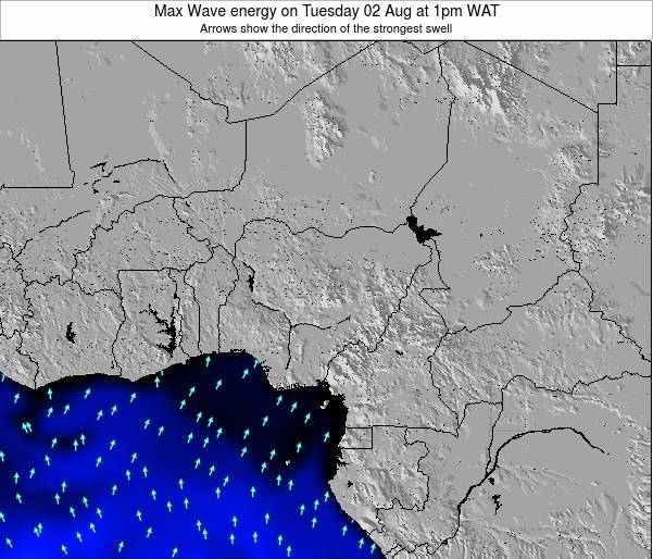Nigeria Max Wave energy on Monday 12 Dec at 7pm WAT