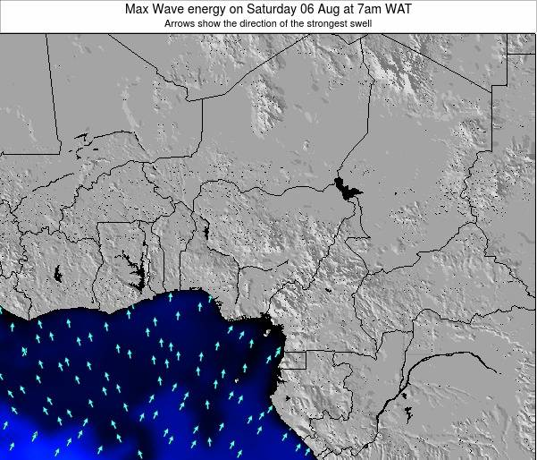 Nigeria Max Wave energy on Monday 17 Mar at 7pm WAT