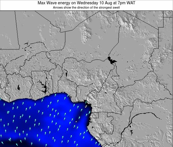 Nigeria Max Wave energy on Monday 03 Oct at 7pm WAT