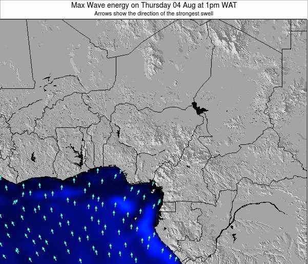 Nigeria Max Wave energy on Tuesday 22 Apr at 1am WAT