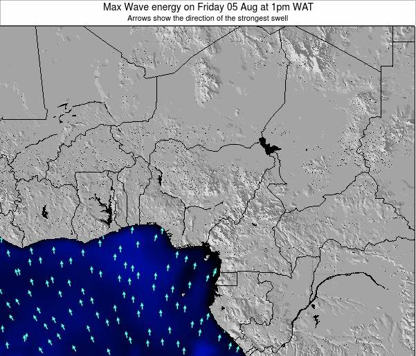 Nigeria Max Wave energy on Thursday 06 Nov at 7am WAT