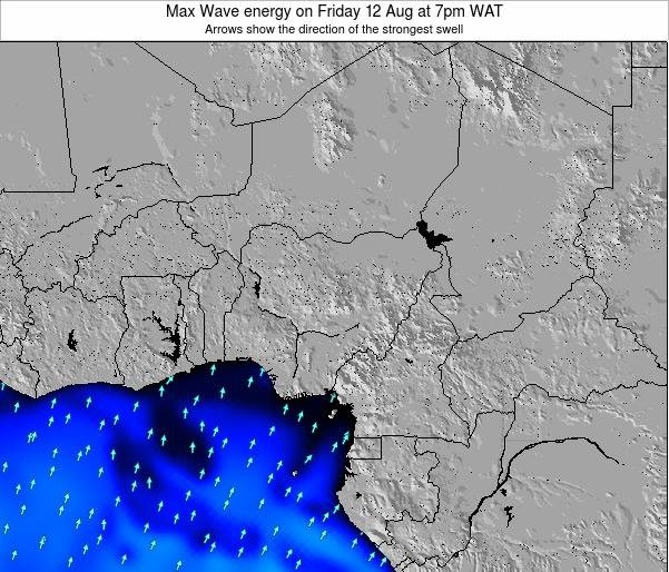 Nigeria Max Wave energy on Thursday 31 Jul at 7am WAT