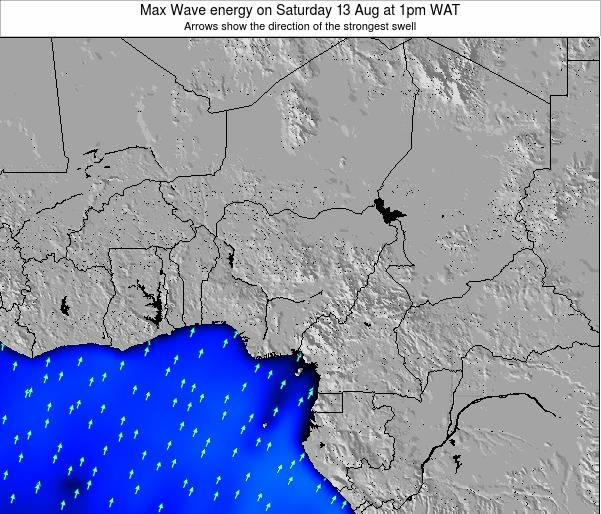 Nigeria Max Wave energy on Friday 08 Aug at 1am WAT
