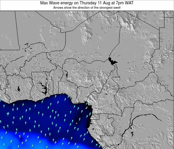 Nigeria Max Wave energy on Sunday 08 Mar at 1pm WAT