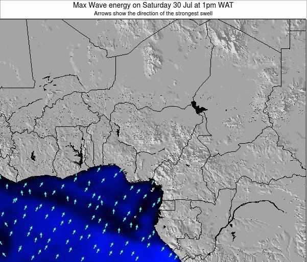 Nigeria Max Wave energy on Saturday 27 Sep at 1am WAT