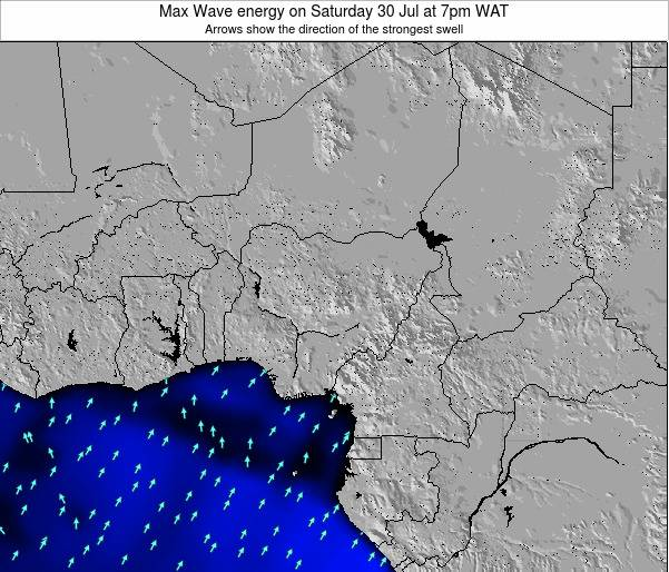 Nigeria Max Wave energy on Saturday 15 Mar at 1pm WAT