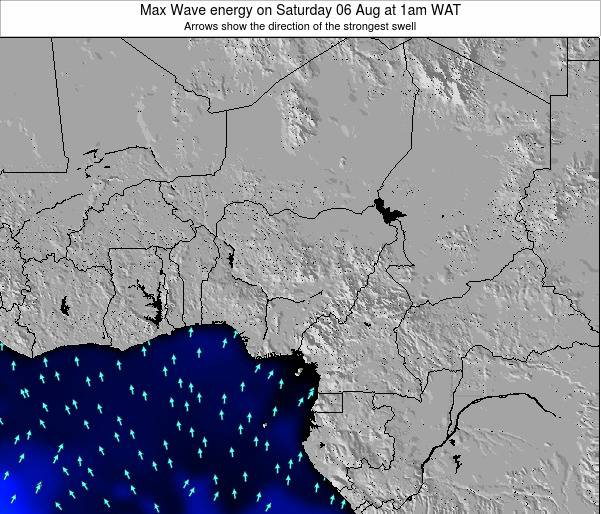 Nigeria Max Wave energy on Saturday 26 Jul at 1am WAT