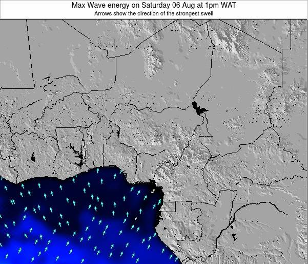 Nigeria Max Wave energy on Saturday 08 Mar at 1am WAT
