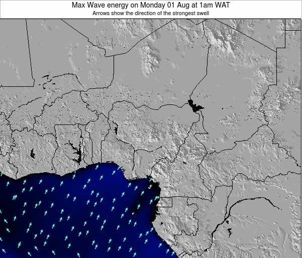 Nigeria Max Wave energy on Wednesday 19 Jun at 1am WAT