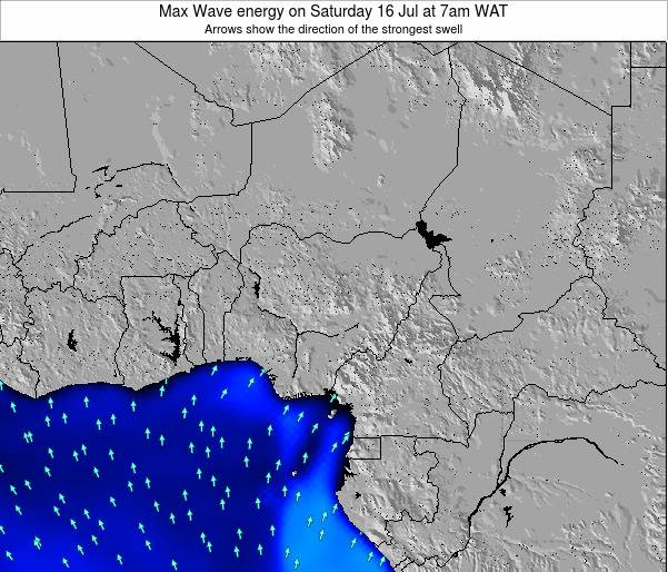 Nigeria Max Wave energy on Thursday 17 Apr at 7pm WAT