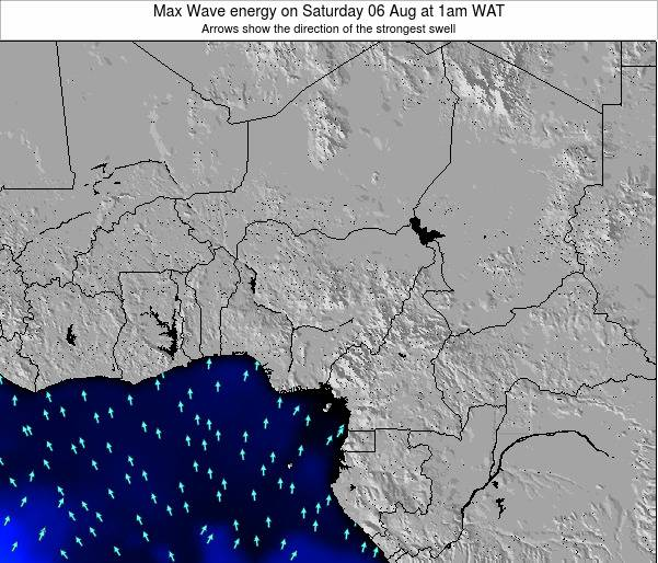 Nigeria Max Wave energy on Tuesday 29 Jul at 1am WAT