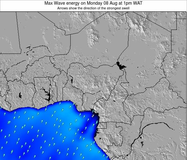 Nigeria Max Wave energy on Friday 09 Dec at 7pm WAT