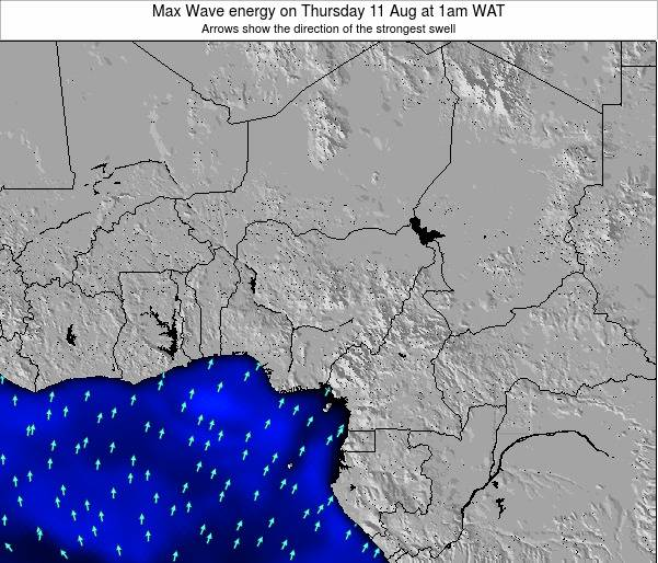 Nigeria Max Wave energy on Wednesday 23 Jul at 7pm WAT