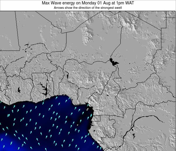 Nigeria Max Wave energy on Wednesday 11 Dec at 1pm WAT