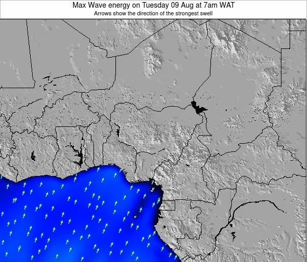 Nigeria Max Wave energy on Sunday 27 Jul at 7am WAT