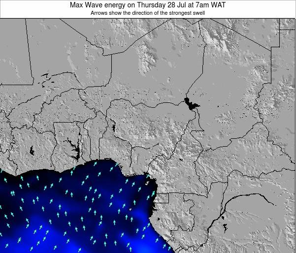 Nigéria Max Wave energy on Monday 30 Nov at 1pm WAT