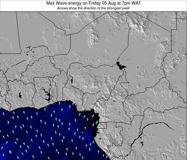 Nigeria Max Wave energy on Thursday 17 Apr at 1am WAT