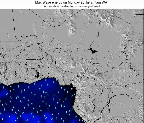 Nigeria Max Wave energy on Wednesday 23 Jul at 1am WAT