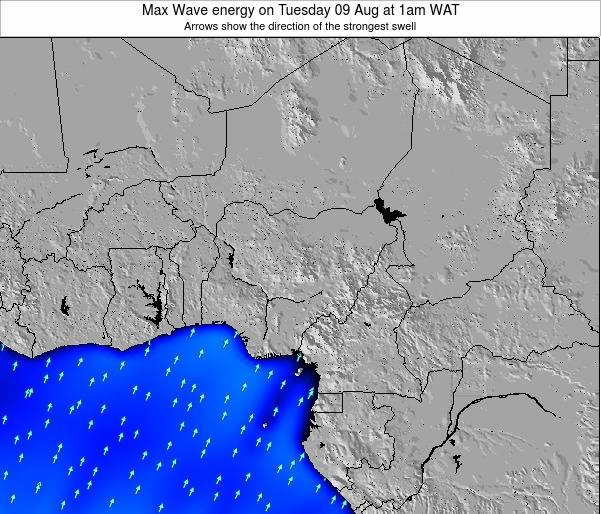 Nigeria Max Wave energy on Sunday 23 Jul at 7pm WAT