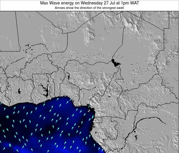 Nigeria Max Wave energy on Monday 28 Apr at 7am WAT