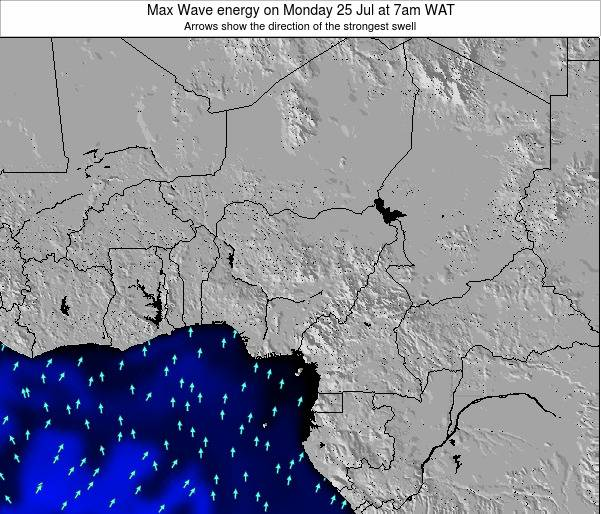 Nigeria Max Wave energy on Monday 30 May at 7pm WAT
