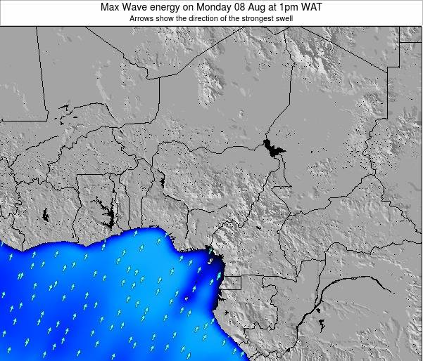 Nigeria Max Wave energy on Saturday 07 Dec at 7pm WAT