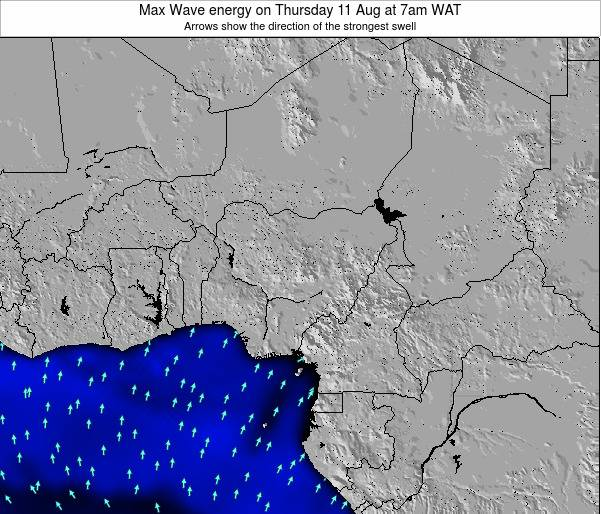 Nigeria Max Wave energy on Wednesday 29 May at 1am WAT