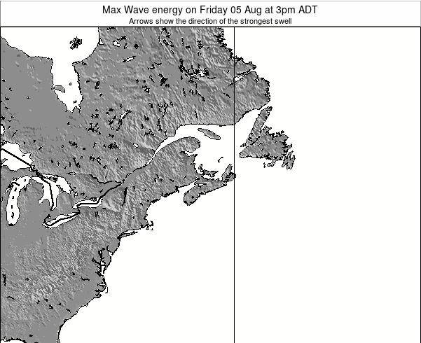Nova-Scotia Max Wave energy on Saturday 25 May at 9am ADT