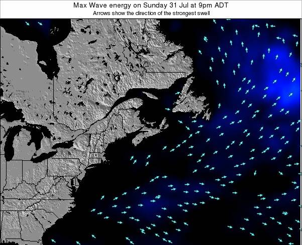 Nova-Scotia Max Wave energy on Saturday 25 May at 9pm ADT