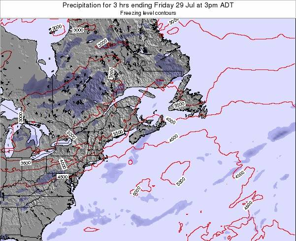 Nova-Scotia Precipitation for 3 hrs ending Wednesday 06 Jul at 3am ADT