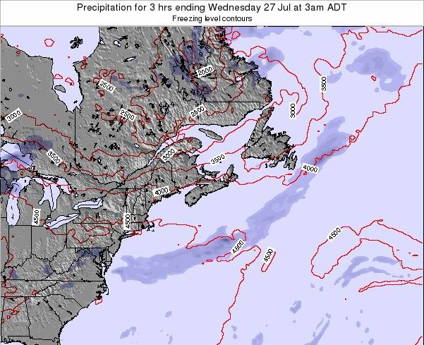 Nova-Scotia Precipitation for 3 hrs ending Wednesday 06 Aug at 9pm ADT